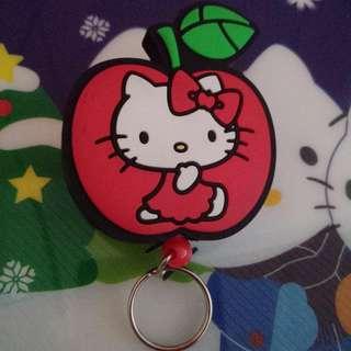 Kitty蘋果伸縮票夾