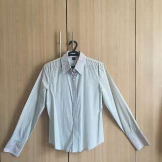Express Brand Long Sleeves stripes Top