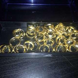 New indian Gold Tone Sleeper Earrings