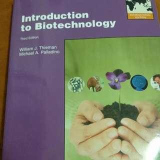 生物技術概論 introduction to biotechnology (歡迎出價