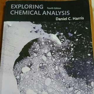 分析化學 exploring chemical analysis (歡迎出價