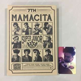 PRICE REDUCED [OFFICIAL] SUPER JUNIOR MAMACITA