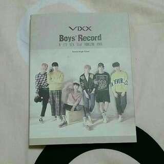 VIXX 離別公式 韓版 附小卡