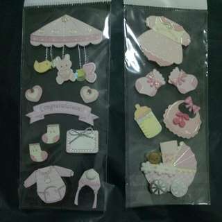 3D Stickers To Decor 👧 & 👦 Step By Step Book .