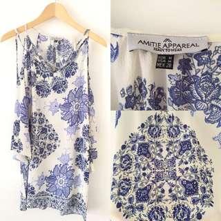 Amitie Appareal Porcelain Dress Size M