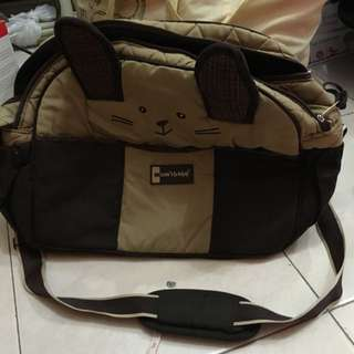 Diaper Bag With Adjustable Sling