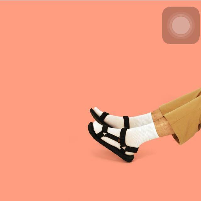 全新 類 Teva 三角 織帶 涼鞋