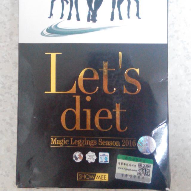 全新 Let's diet 皮褲