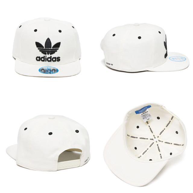 Adidas Originals SnapBack S、M 黑、白 定價/$1090 優惠/$900 正品代購 台灣公司貨含吊牌