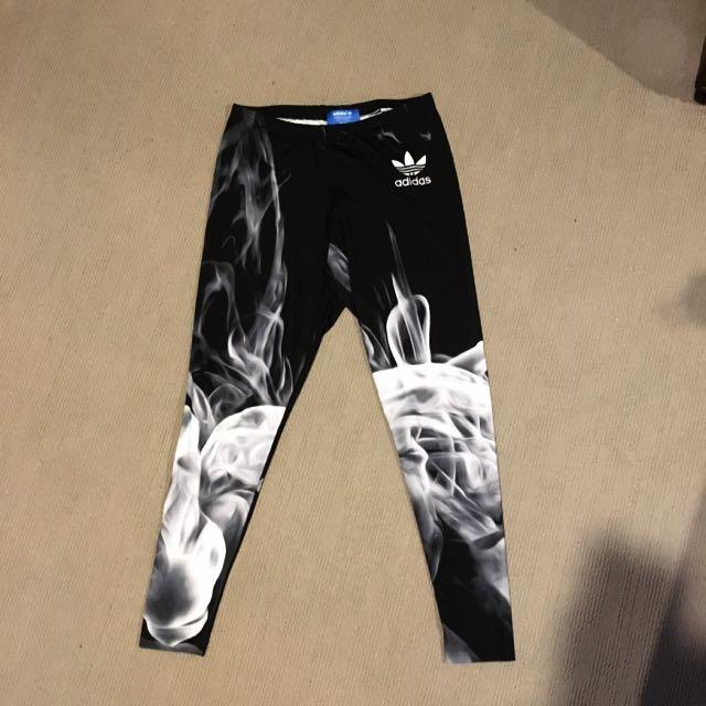 Adidas Rita Ora Smoke Leggings SZ12