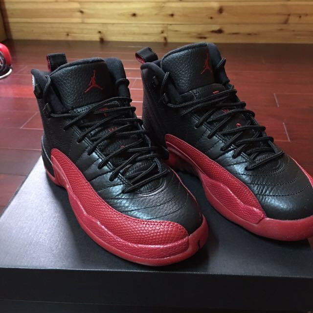 """Air Jordan 12 Retro BG """"FLU GAME"""""""