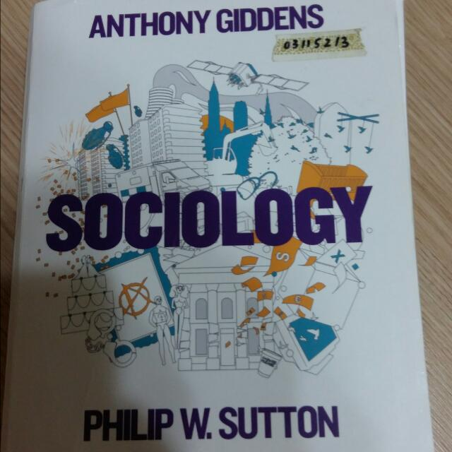 Anthony Giddens Sociology 社會學原文書 #我有課本要賣