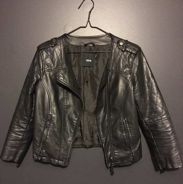 Asos PU Leather Jacket