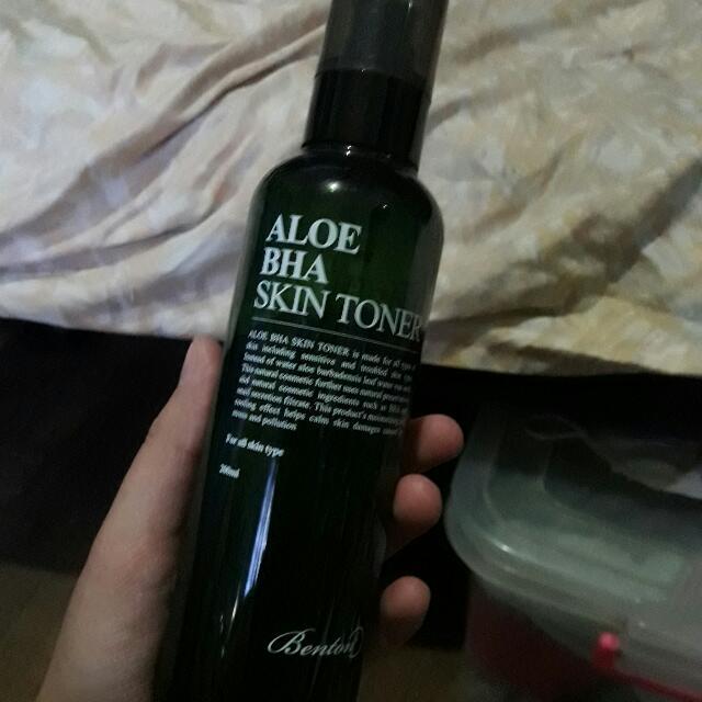 Auth Benton Aloe BHA Skin Toner