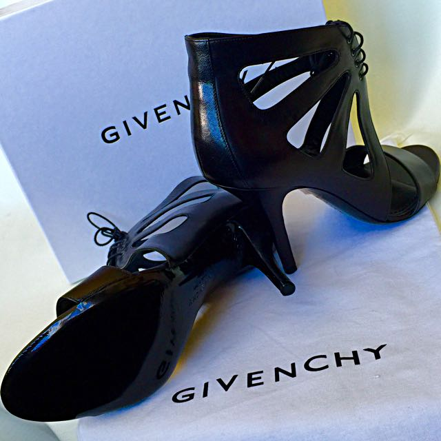 Authentic & New Givenchy Open Toe Ankle Bootie