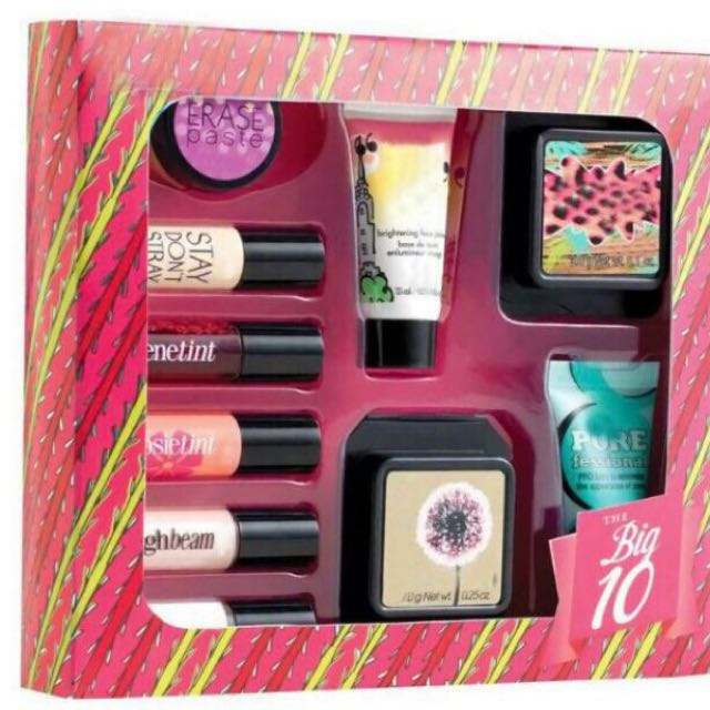 9e92f0d1a78 Benefit Big 10 Makeup Kit Set, Health & Beauty, Makeup on Carousell