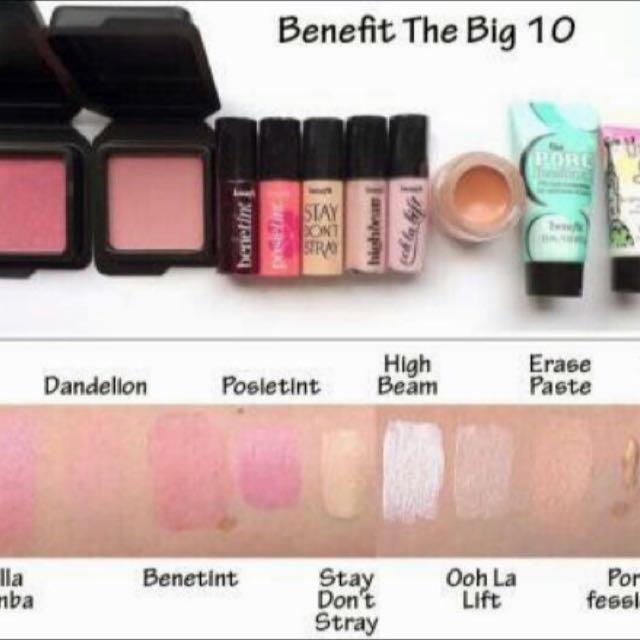 c13765bd057 Benefit Cosmetics Big 10 Makeup Kit | Saubhaya Makeup