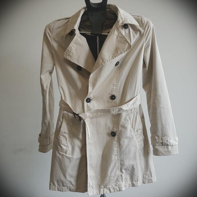 Bershka Beige Coat