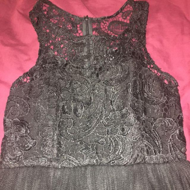 Black Short Formal Dress