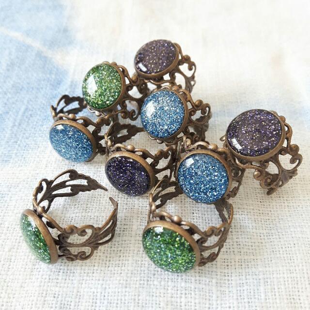 Bling Bling Vintage Style Rings.