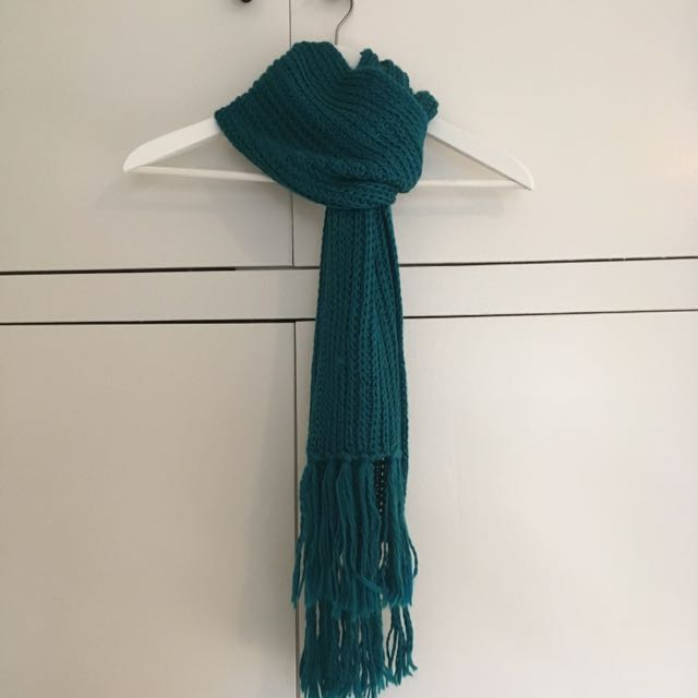 Blue/Green Scarf