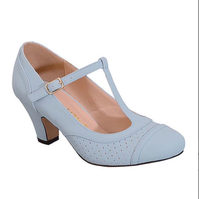 BNIB Chase & Chloe T-strap Heels.  Size 10
