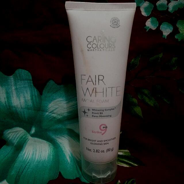 Caring Colours Fair White Facial Foam