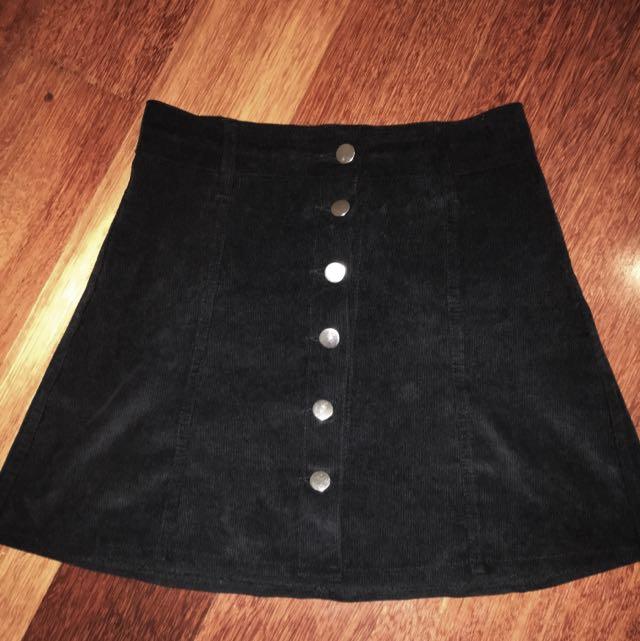City Beach Button Up Skirt