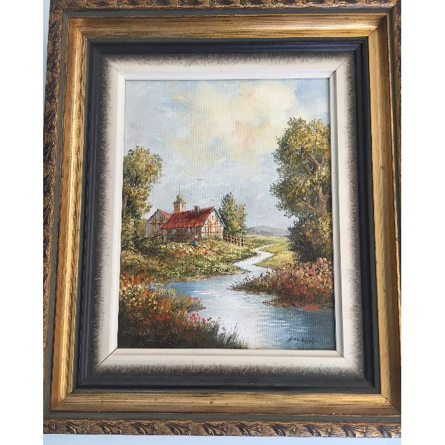 Oil Painting Cottage
