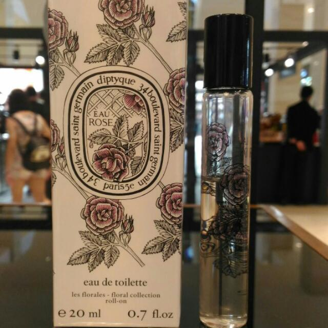 195b92b7107e Diptyque Eau Rose Roll On 20 ml Now Rm 135