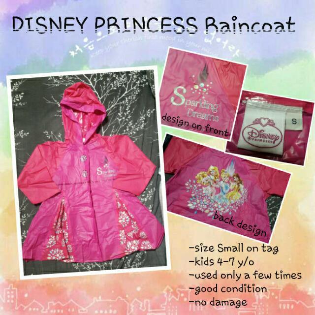 Disney Princess Raincoat