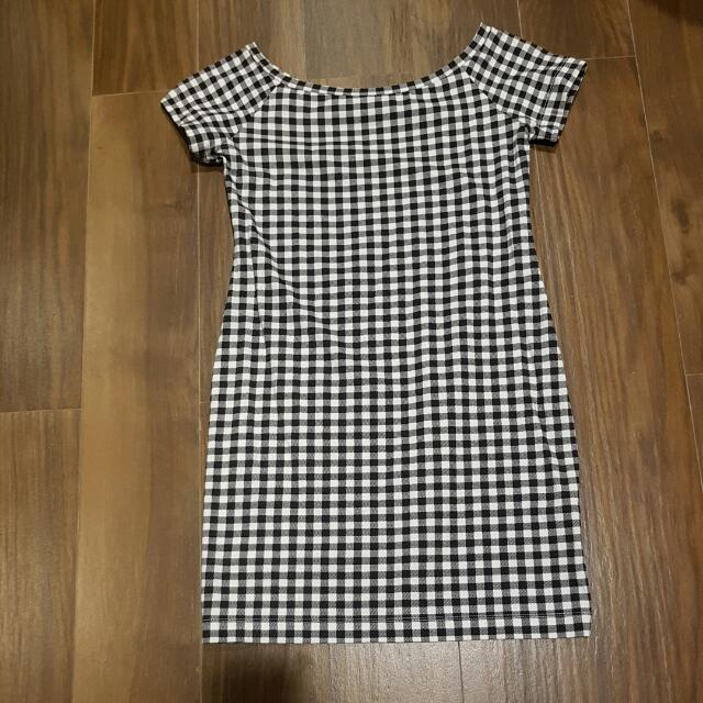 Dress Kotak Kotak Uniqlo