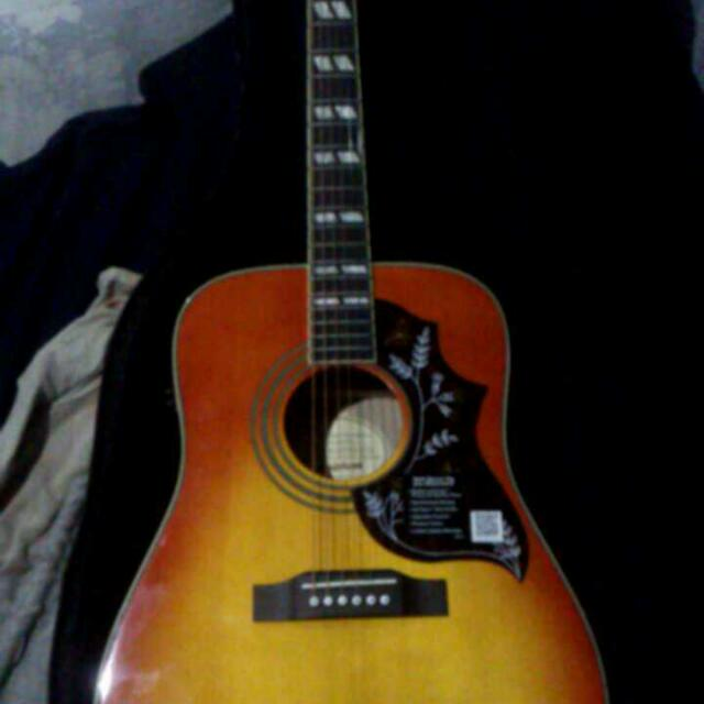 Epiphone Hummingbird Pro Music Media Music Instruments On Carousell