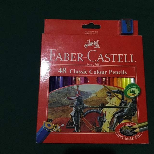 AVAILABLE: Faber Castell 48 Classic Color Pencils
