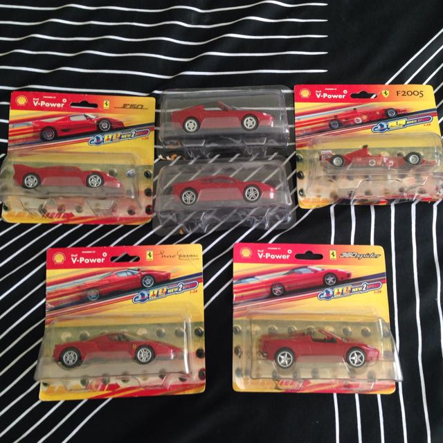 Ferrari Car Set