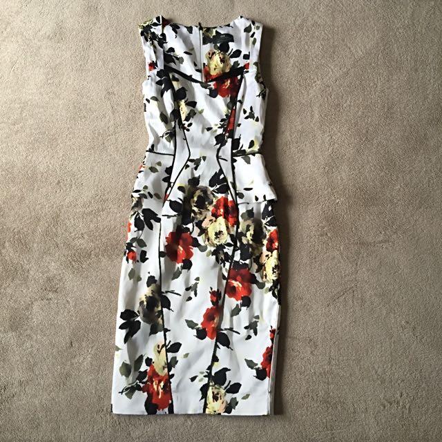 Floral Cue Dress