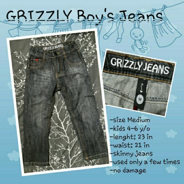 Grizzly Boys' Skinny Jeans