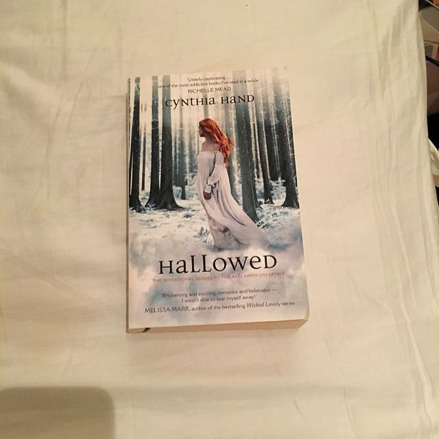 Hallowed (Unearthly Book #2) By Cynthia Hand