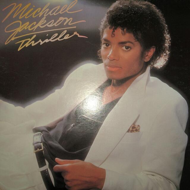 Iconic Michael Jackson Thriller Album (1982 Release)