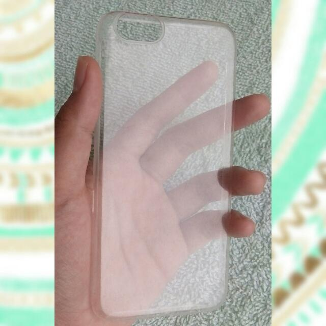 Iphone 6 Used Clear Case
