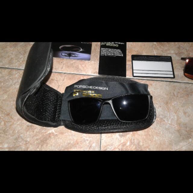 Frame Kacamata PORSCHE DESIGN 8289 - Black Dove. Source · photo photo . f58695c05e