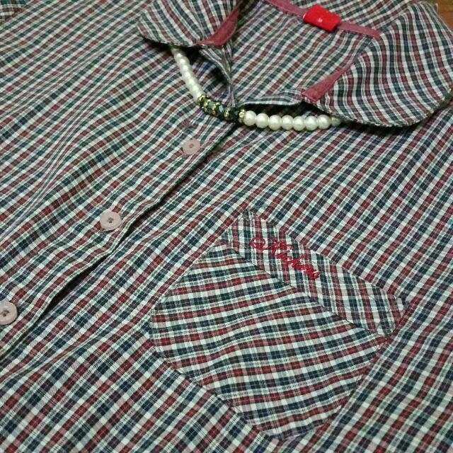 Kickers Long Tartan Shirt