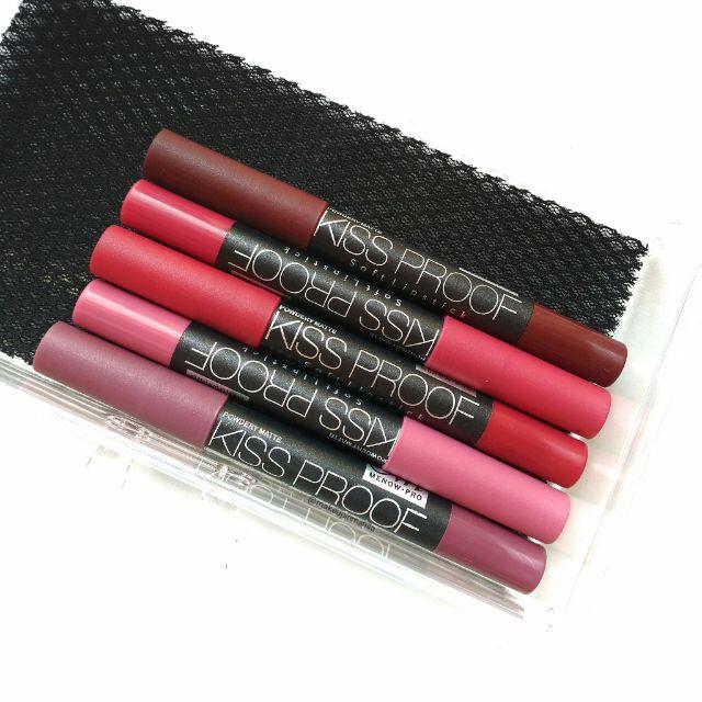 Kissproof Soft Matte Lipstick