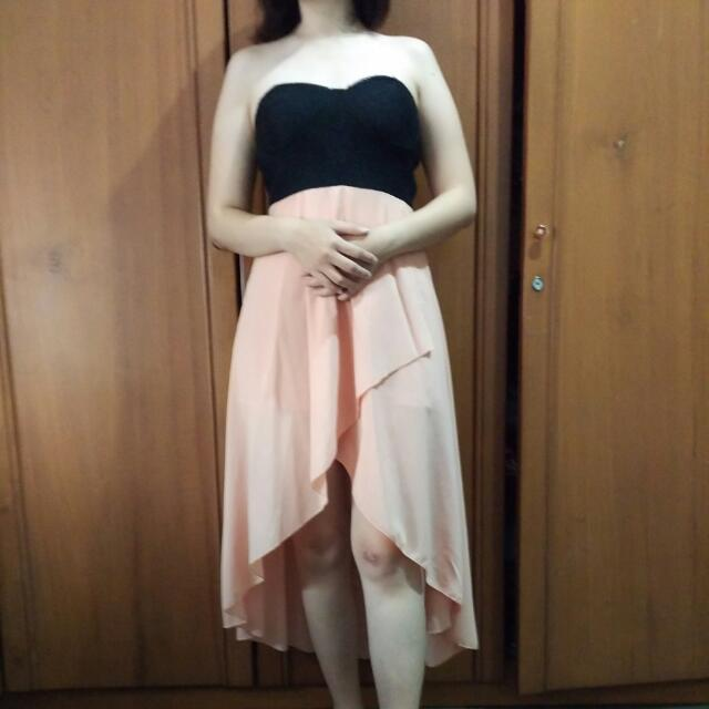 Long Dress nude