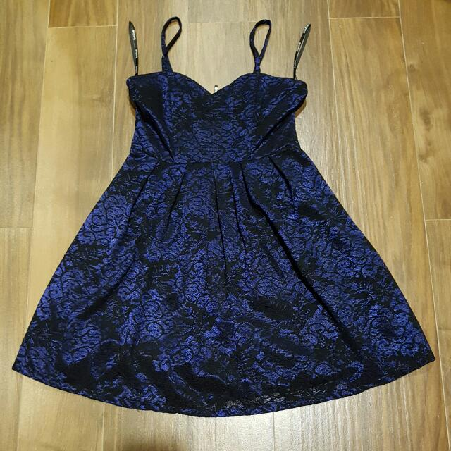 Mini Dress Renda Bebe