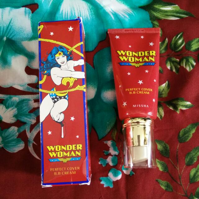 Missha Perfect Cover BB Cream - Wonder Woman Limited Edition