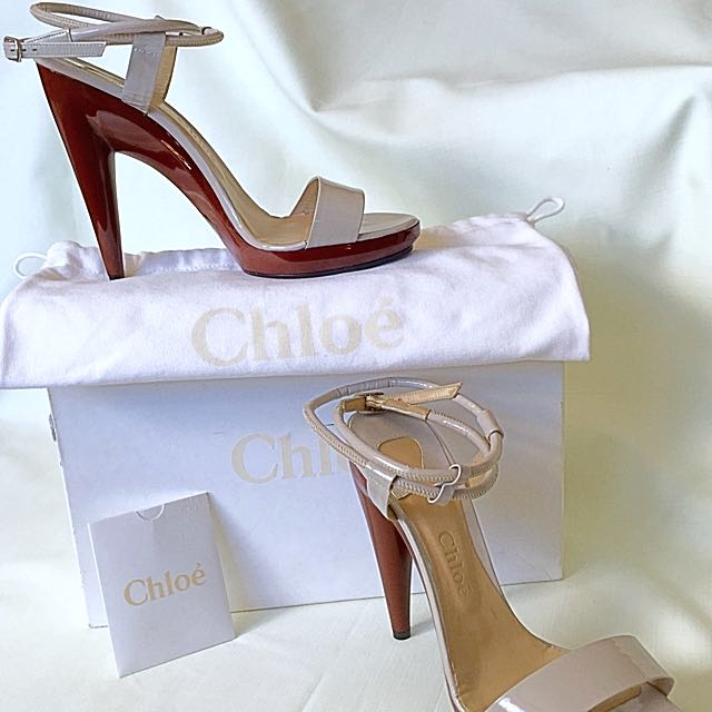 Never Worn - Chloé Two Tone Heels