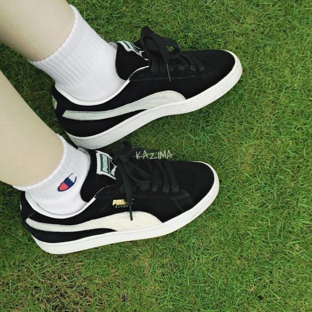 Champion Basic Japan Socks 日線純綿白色短襪 小LOGO 正品實拍