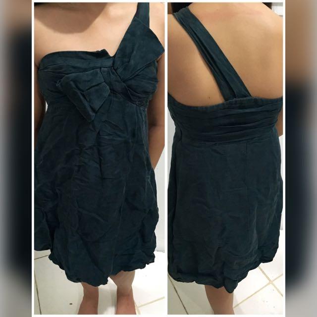 One Strap Dress By Mango
