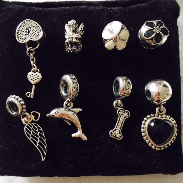 潘朵拉pandora-(單個珠子和手環)價錢可議